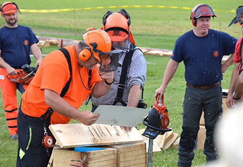 TIMPRO CT participates in the Connecticut Game of Logging competition